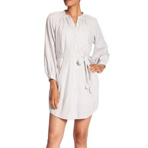NWT Lucky Brand Stripe Menswear Shirt Dress